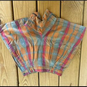 Vintage candy stripped shorts
